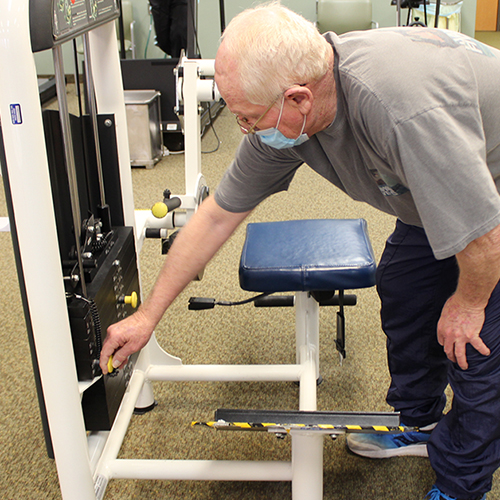 Grand Blanc COVID-19 Survivor Conquers Darkest Days with Pulmonary Rehab